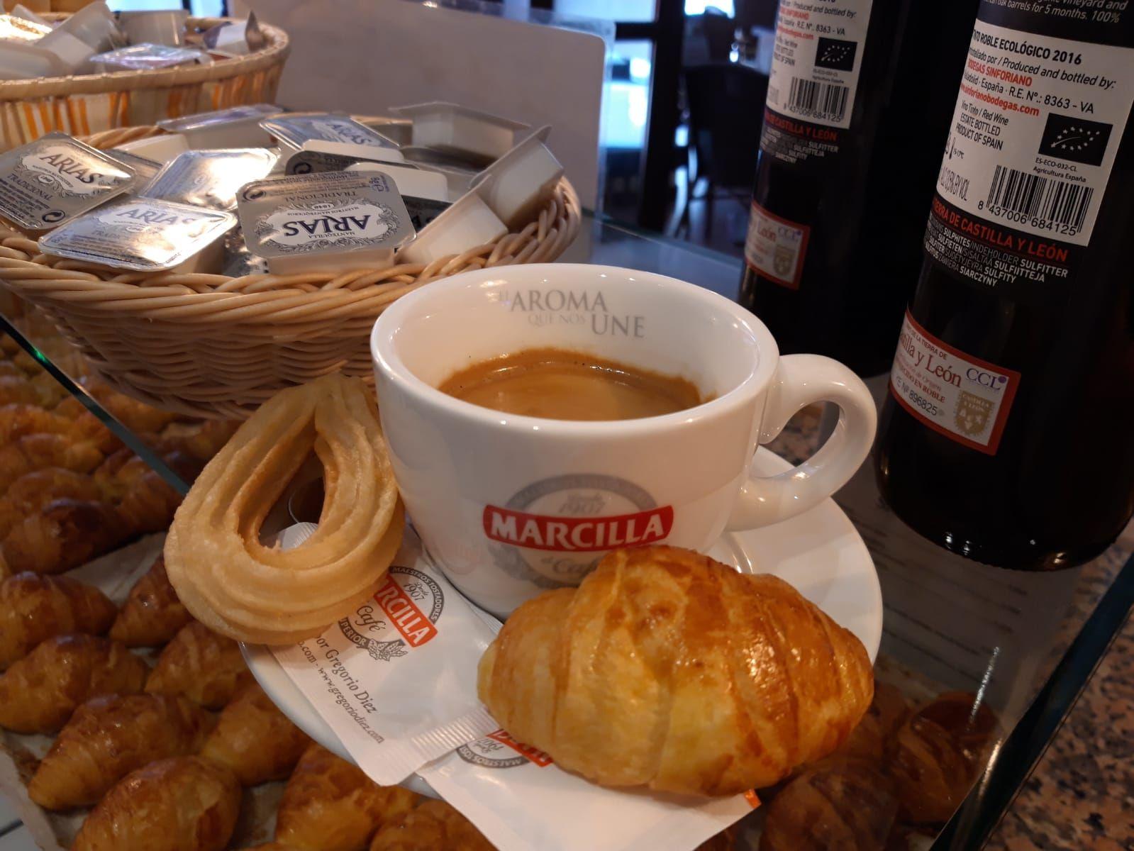 Café y desayuno enValladolid