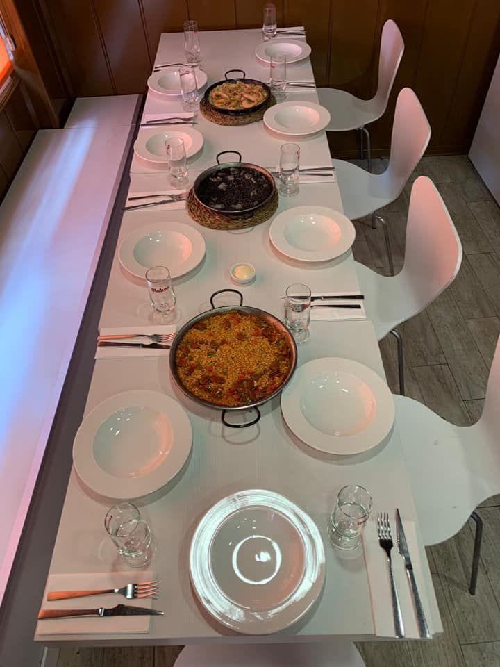 Restaurante arroceríaen Valladolid