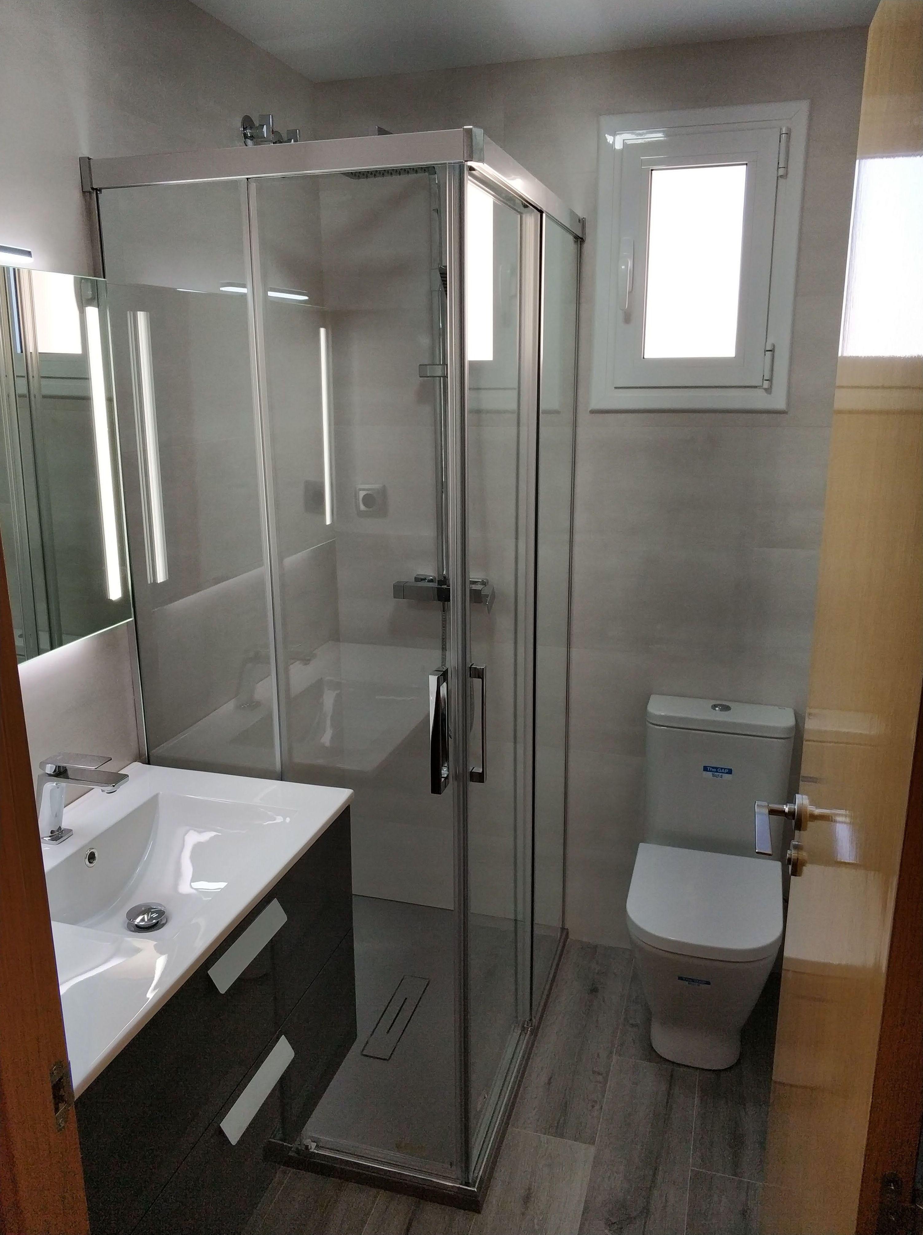 Cuarto de baño en Martorell Zona Bobilas