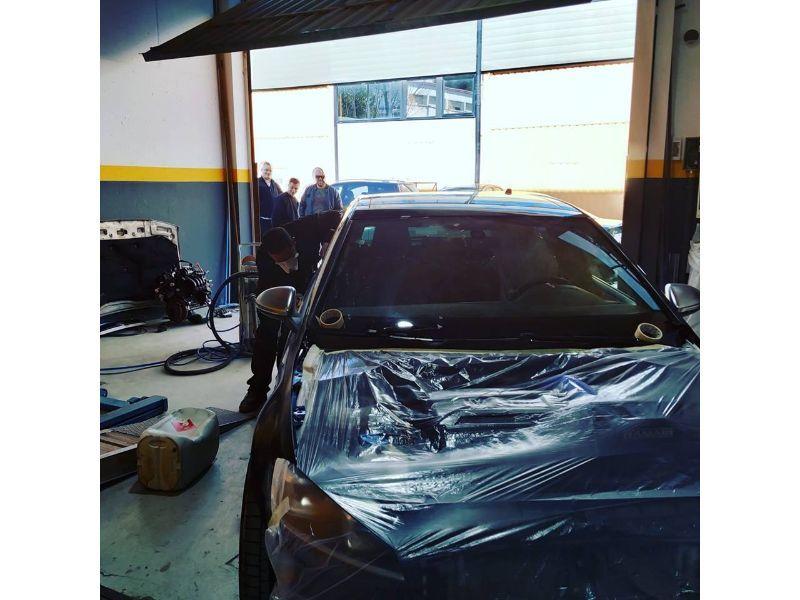 Servicio de pintura de coches