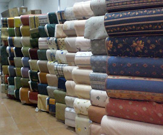 Tapicenter Costasol, amplio stock de telas para cortinas y tapizados en Málaga
