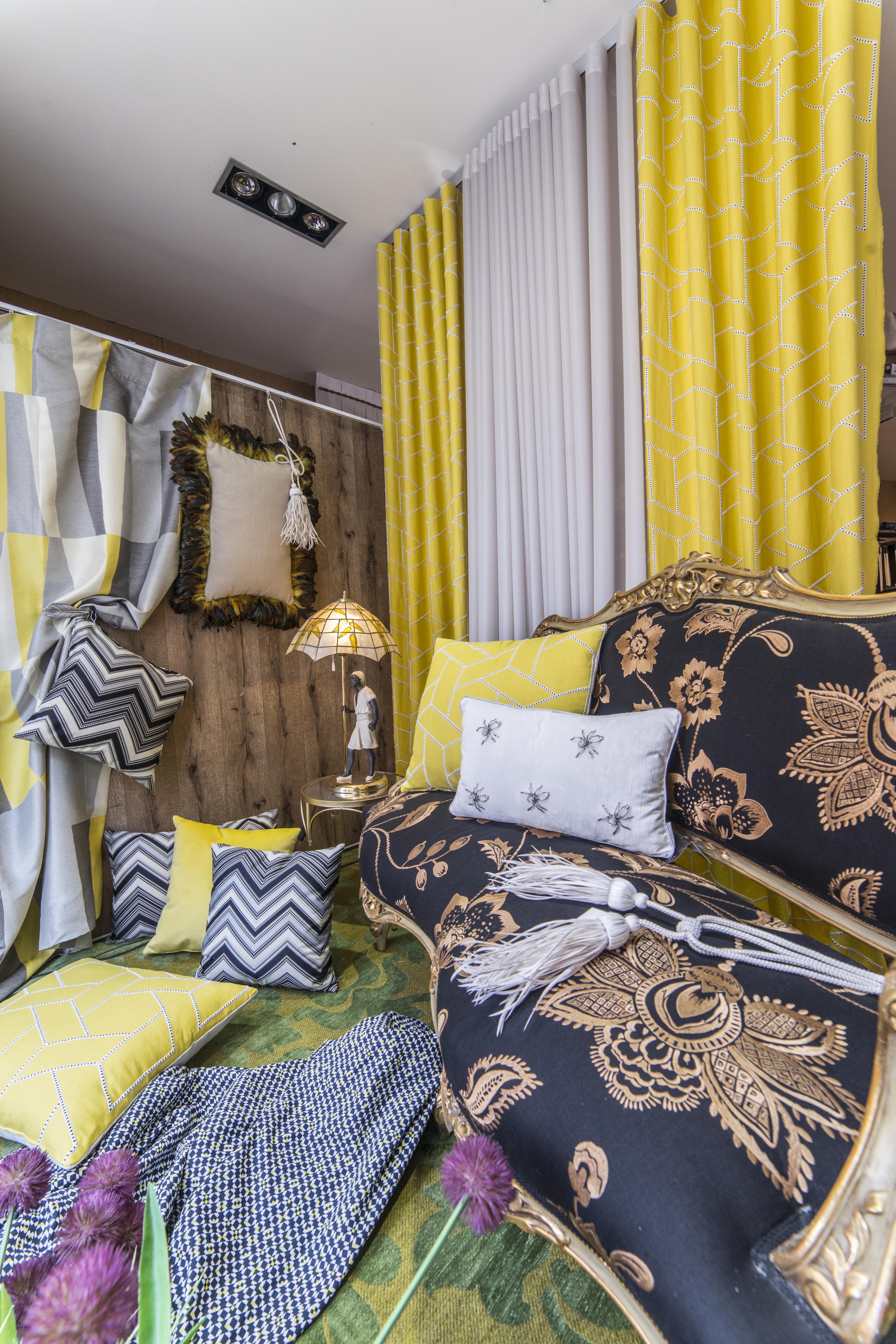 Tejidos para decoración textil de interiores en Navarra