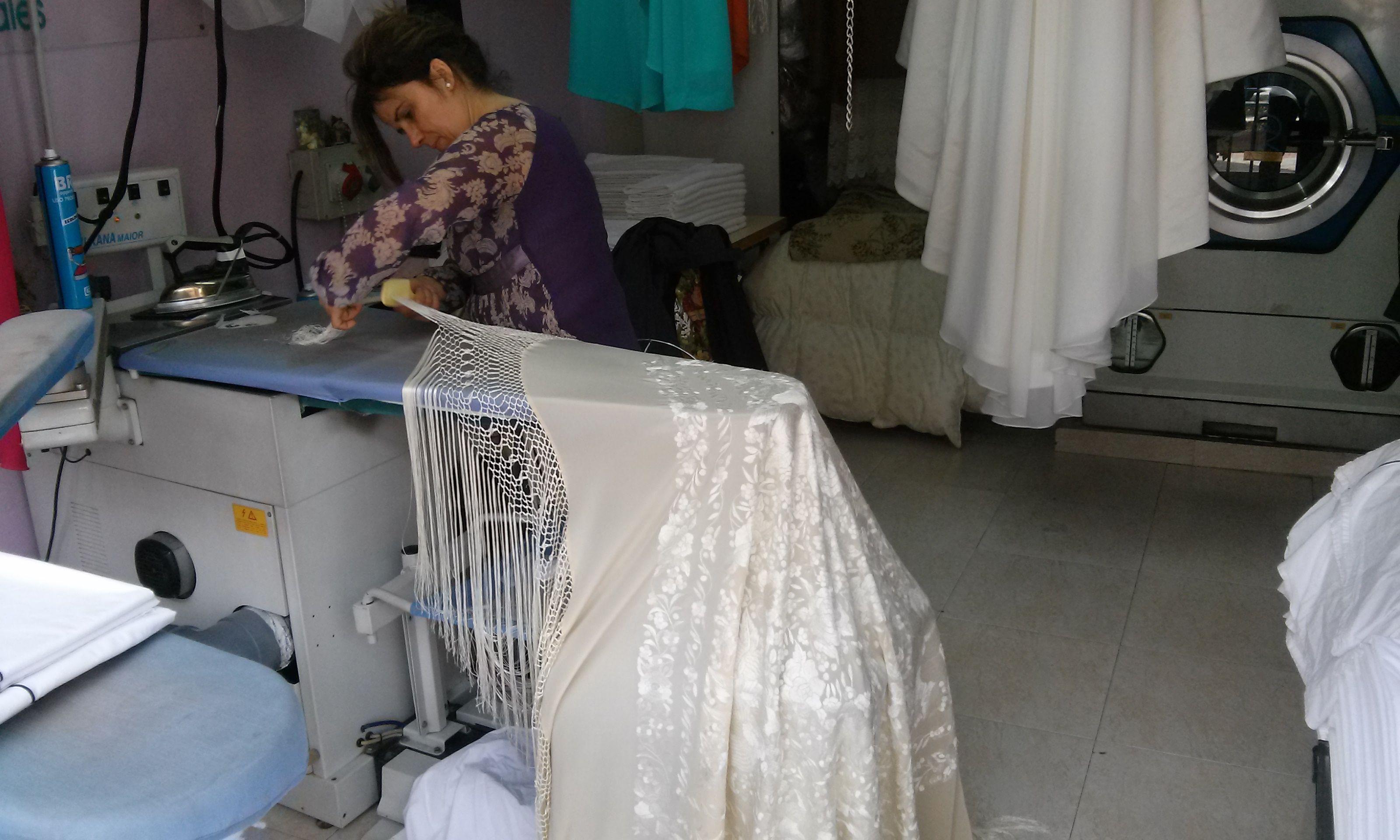 Limpieza vestidos de novia madrid