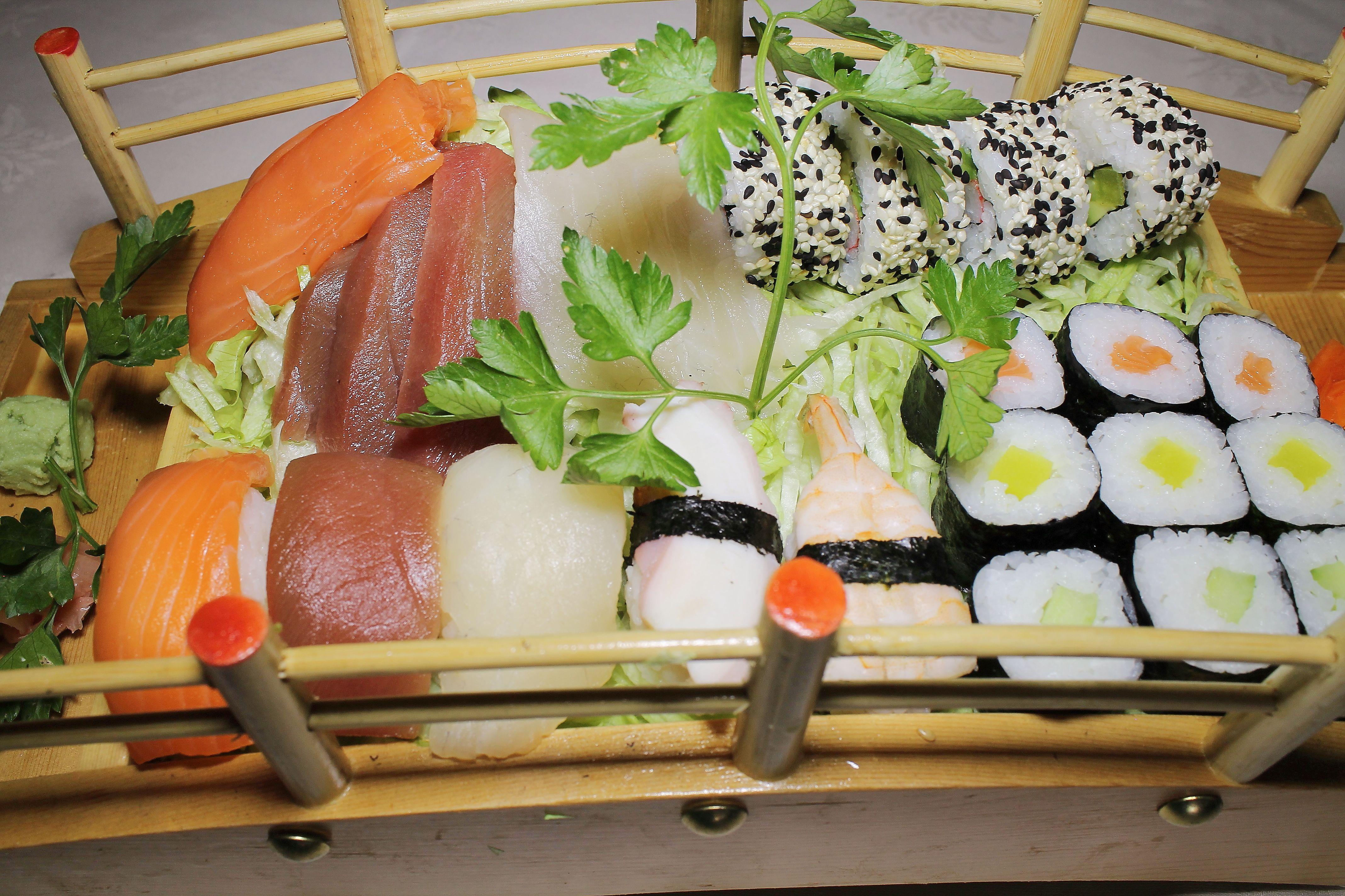 Comer buen sushi en Rivas Vaciamadrid