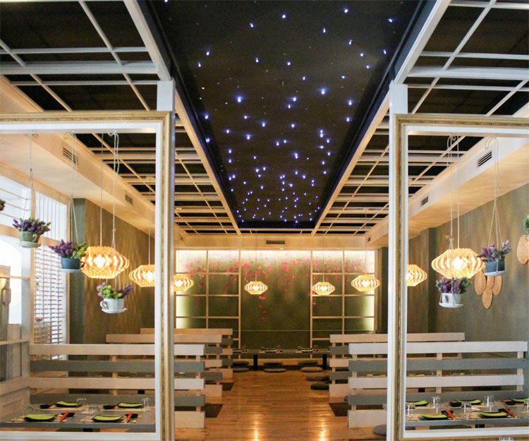 Mesas para disfrutar de la cocina asiática