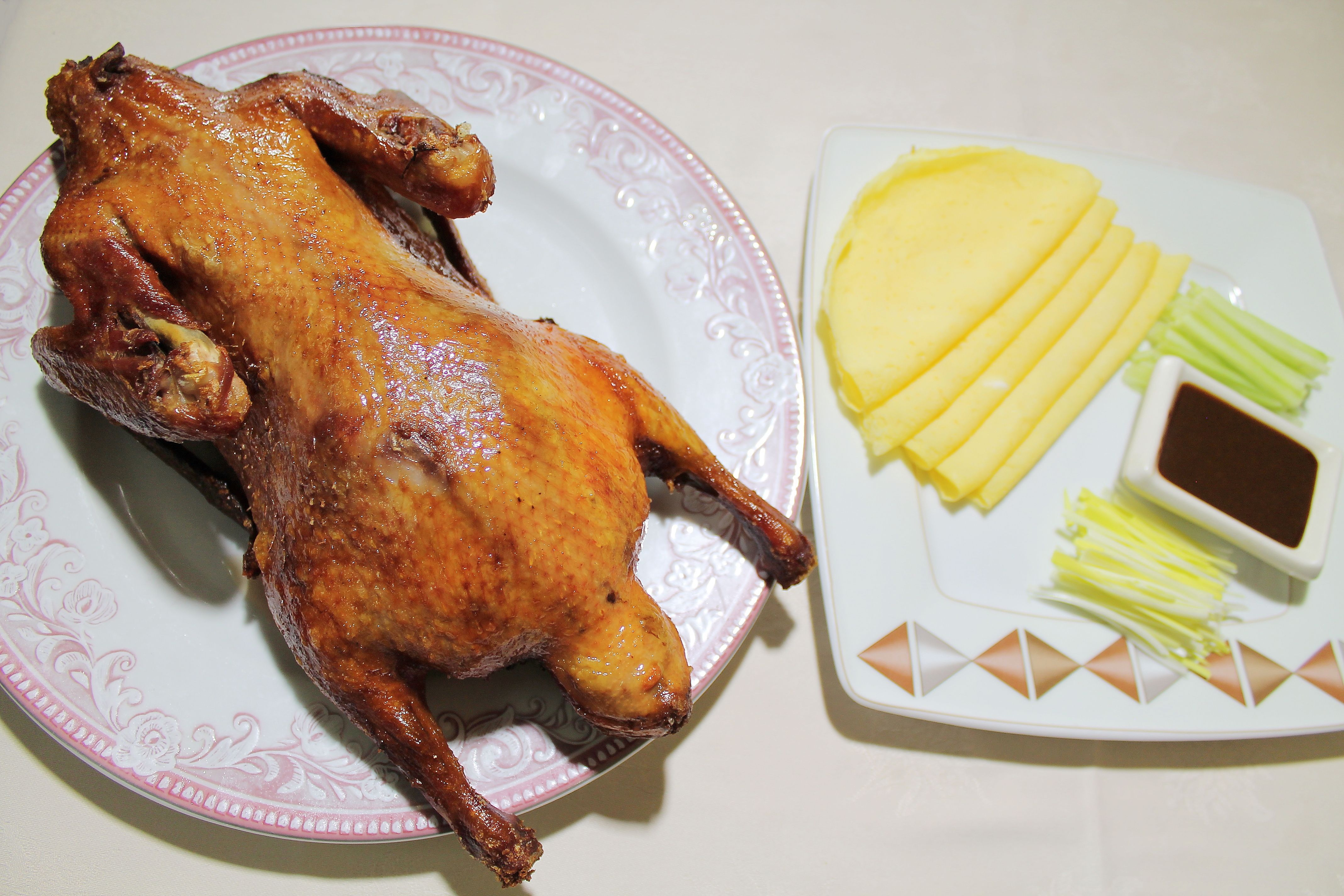 Auténtico pollo cantonés en el Restaurante Gran Oleada de Rivas