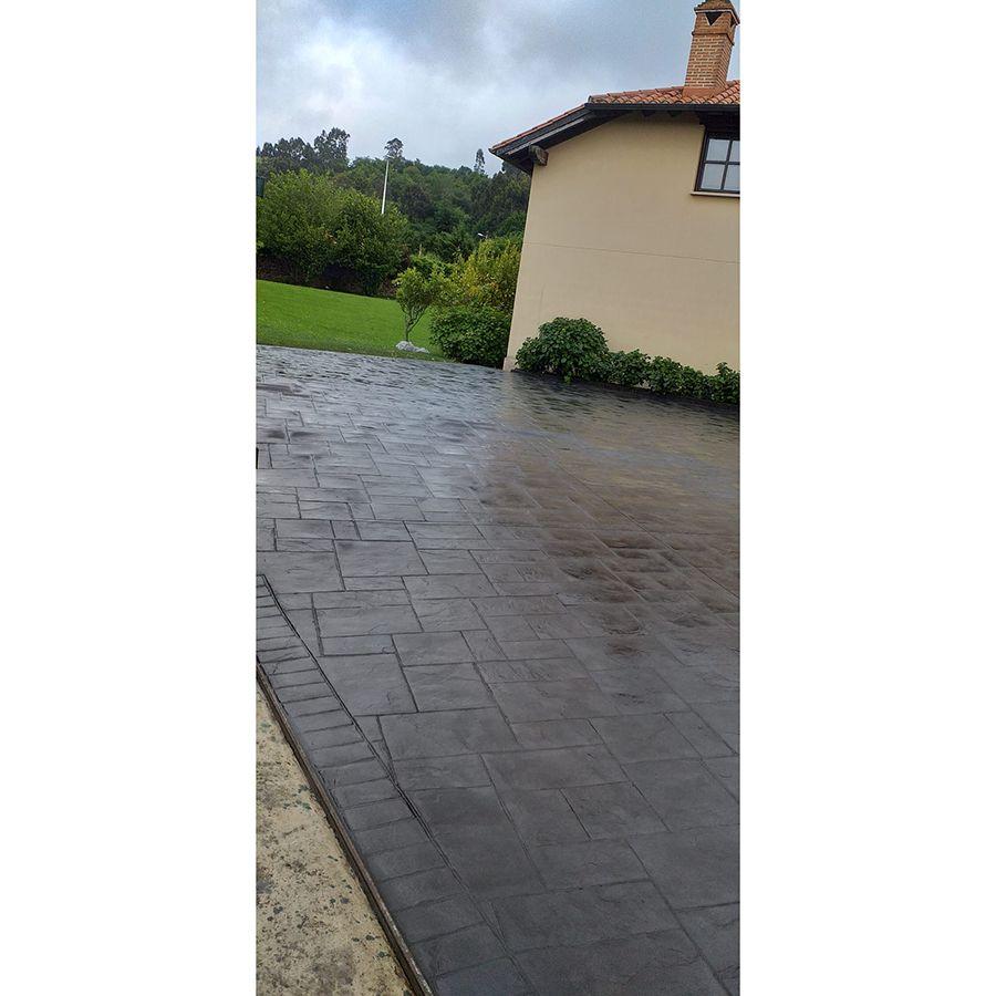 Pavimento de hormigón impreso Torrelavega