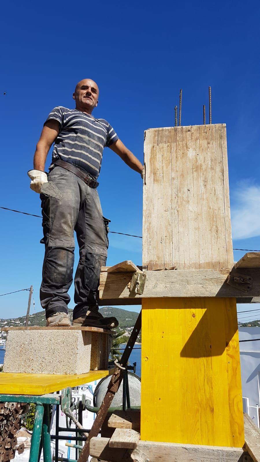 Trabajos de albañilería y reformas