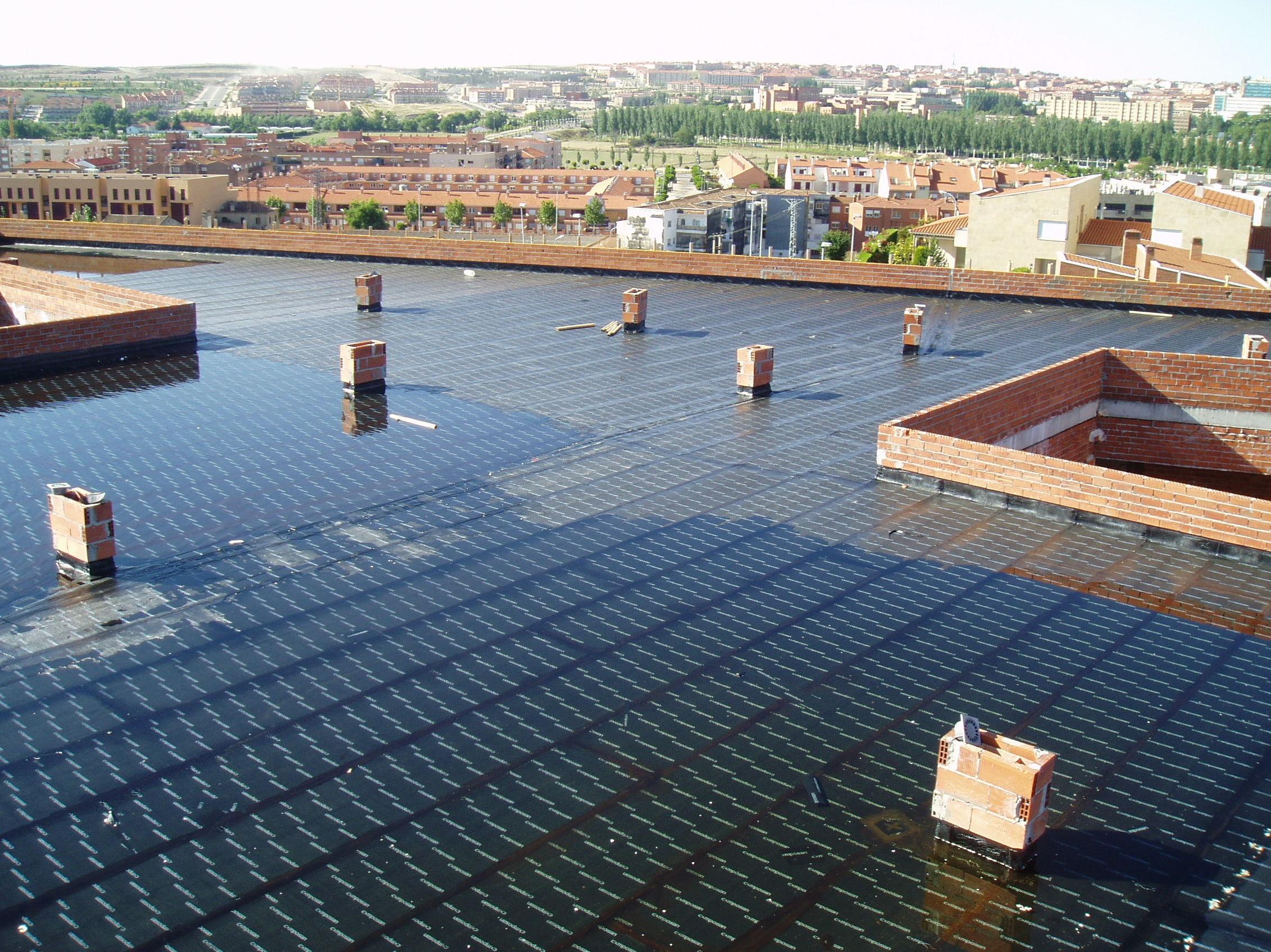 Impermeabilizaci n cubiertas for Cubierta piscina transitable
