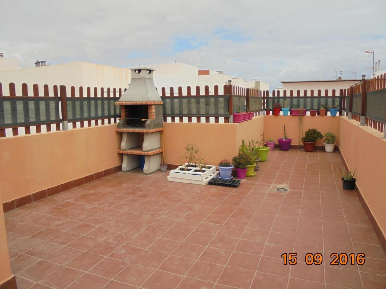 terraza privada en azotea