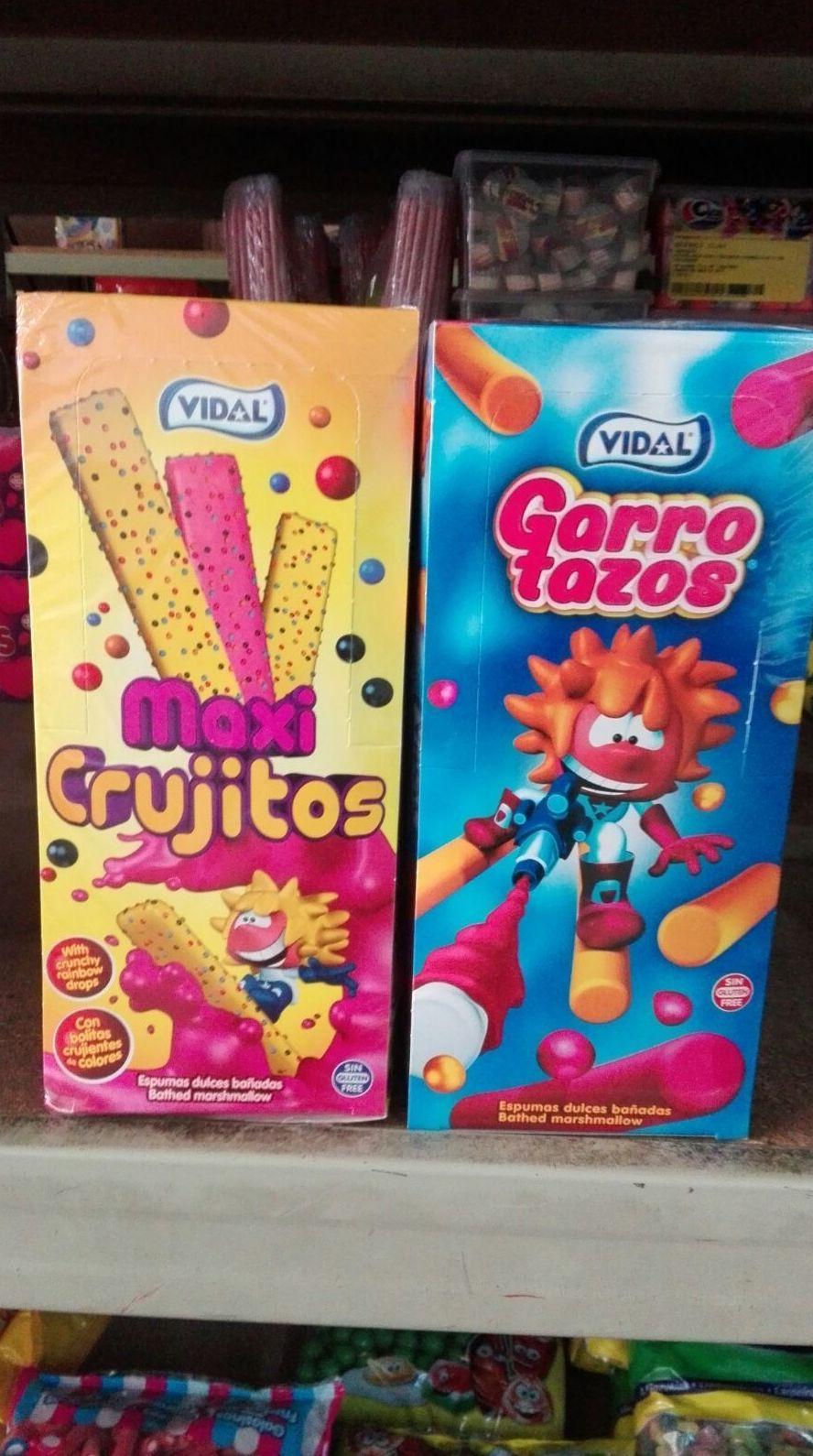 Garrotazos, maxicrujitos: Productos   de Candy Five, S.L.