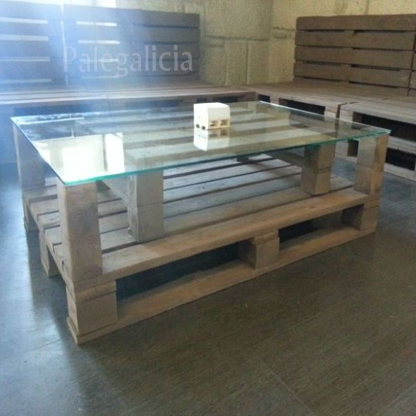 Mesa de palets: Productos de Palegalicia