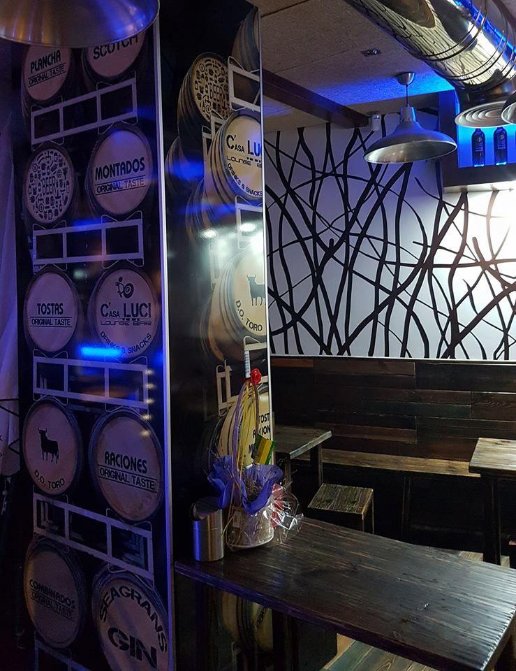 Bar con tapas y raciones en Zamora