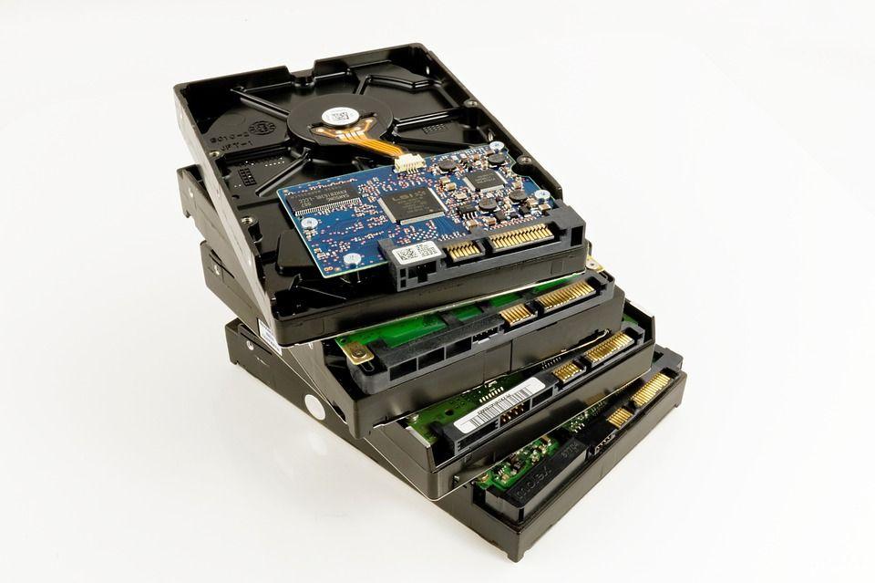 Recuperación de datos y memorias en disco duro