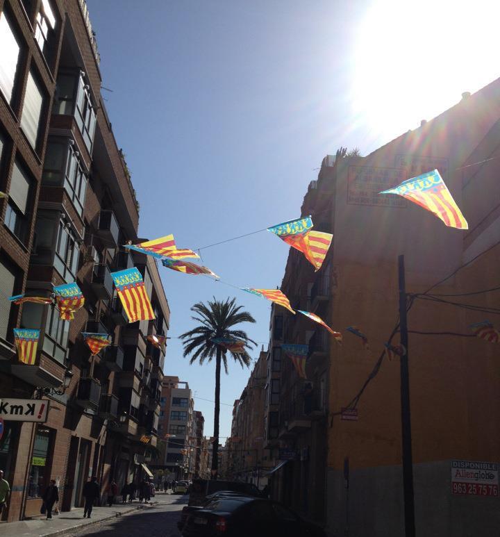 Bandera calle