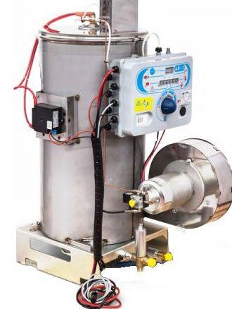 Caldera pirotubular alta presión