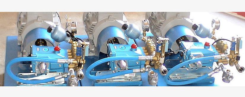 Venta y reparación de bombas de presión Cat Pumps en Córdoba
