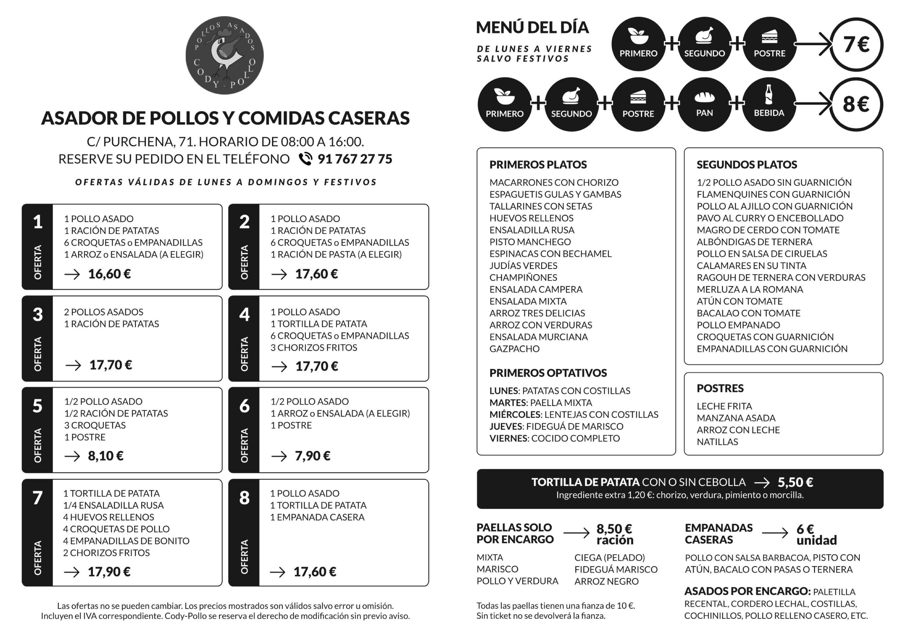 Foto 41 de Pollos asados en Madrid | Cody Pollo