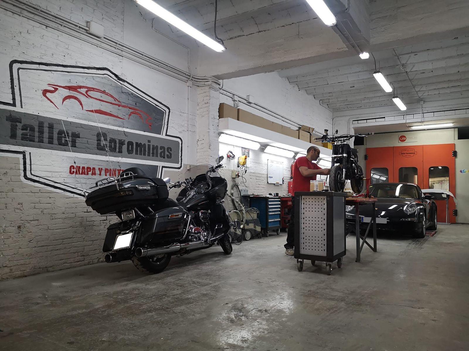Taller de reparación de motos Hospitalet de Llobregat