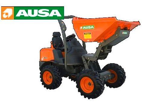 Nueva motorización de AUSA para los dumpers articulados 600 y 1000