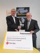 Jungheinrich apoya la Alianza para la Alimentación Infantil de la Cruz Roja