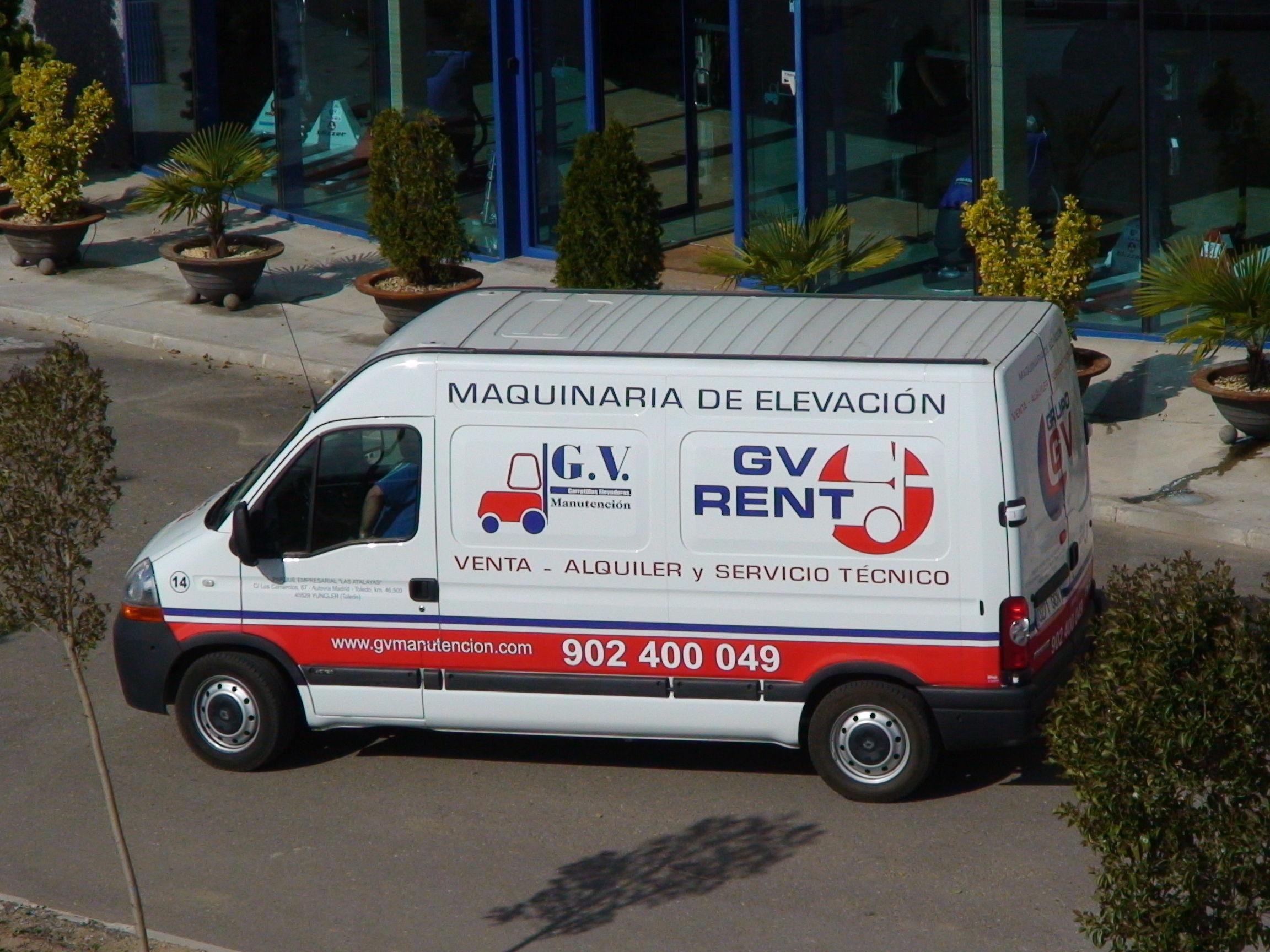 Foto 4 de Carretillas en Yuncler | G.V. Manutención