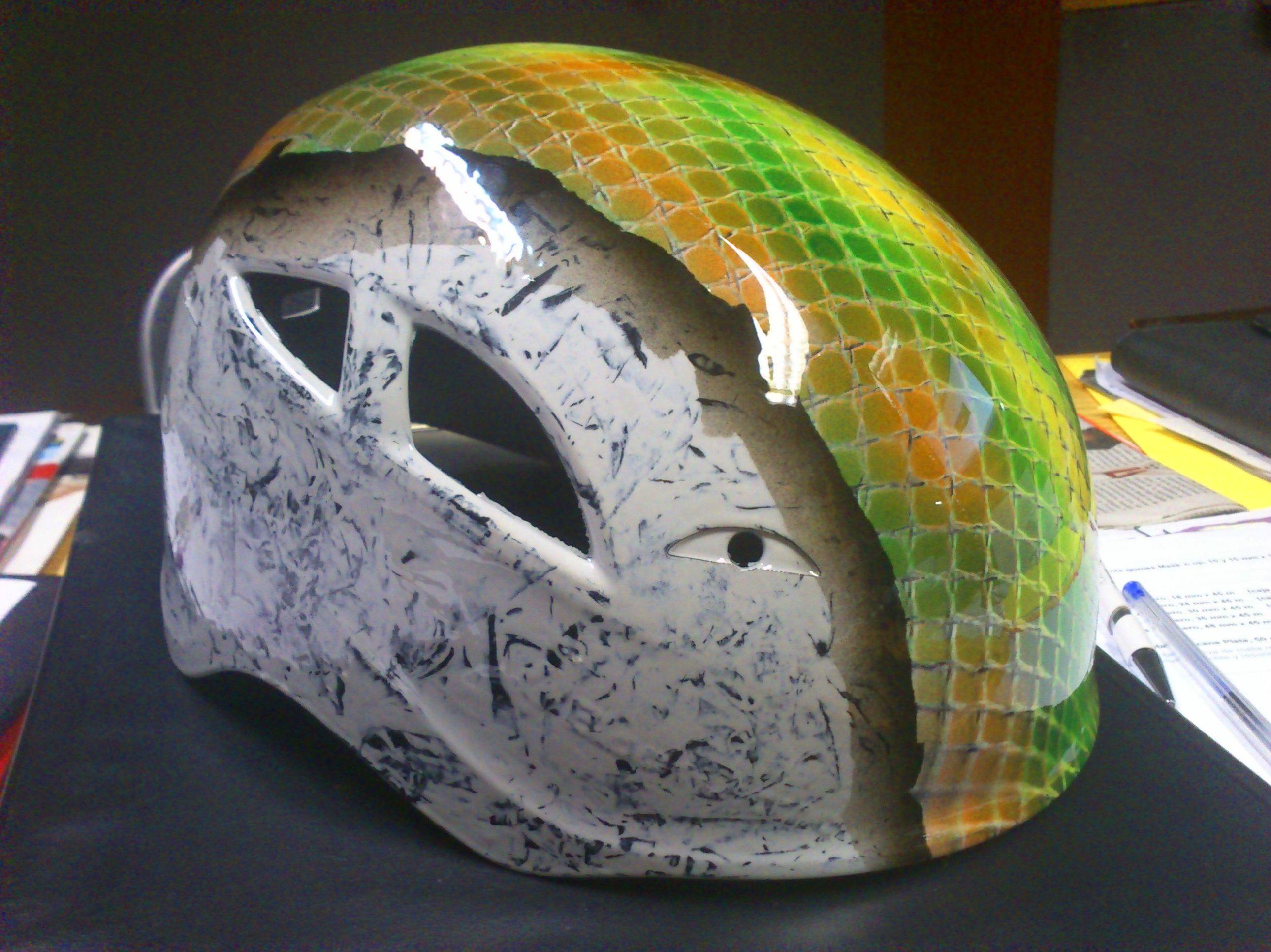 casco  escalada personalizado