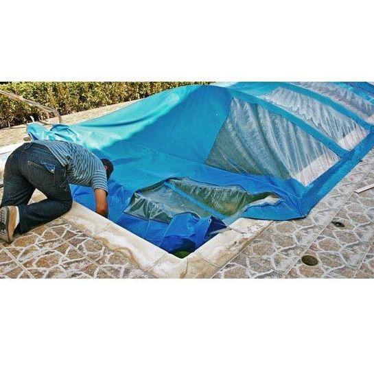 Lonas para cubrir piscinas: Trabajos de Extrepersianas