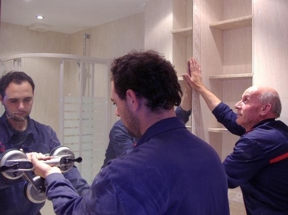 Cristaleros en Madrid