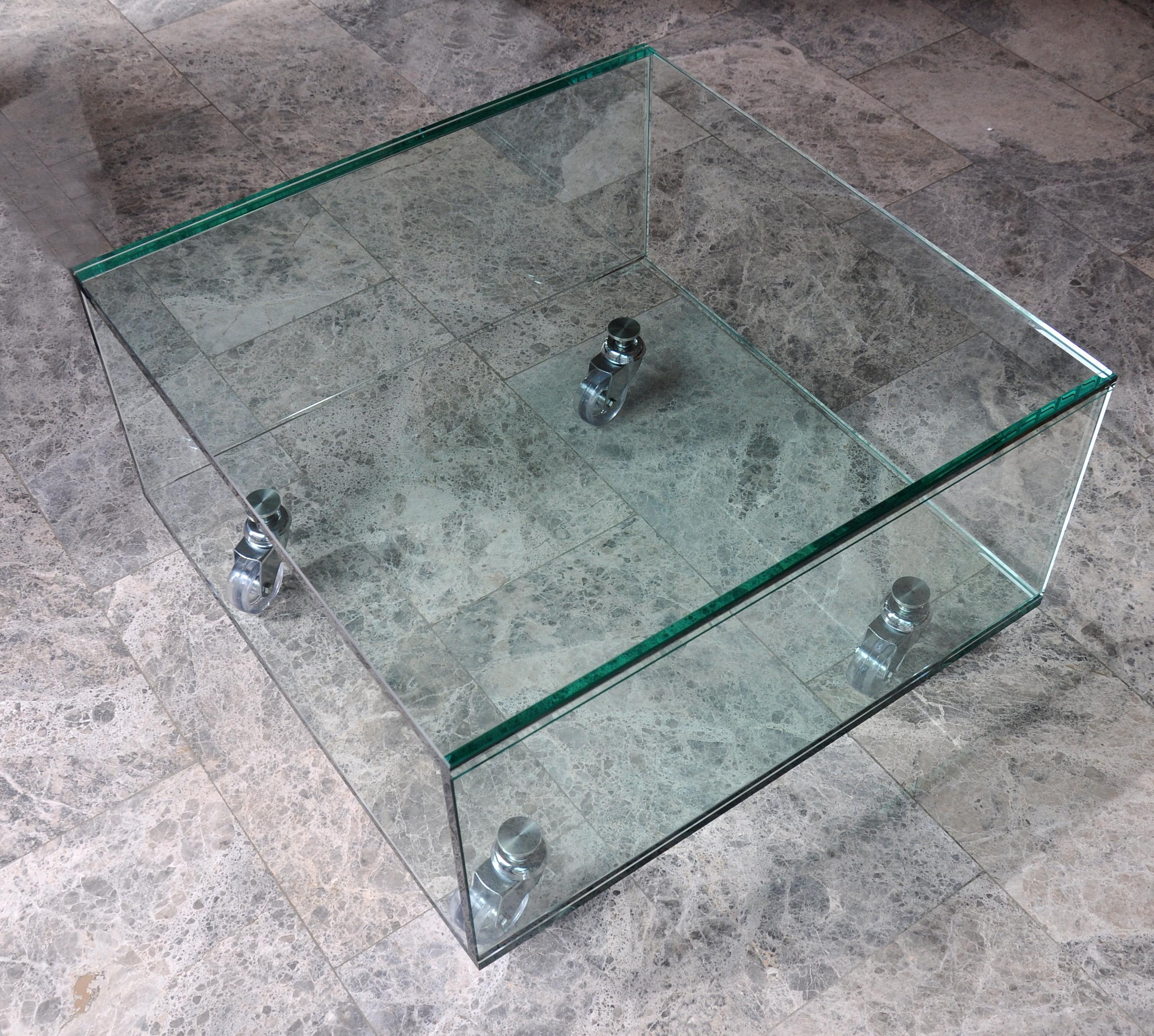 Mesas de cristal a medida. CRISTALERA MADRILEÑA