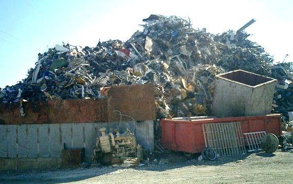 Foto 2 de Chatarrería en Torrejón de Ardoz | Toferla, S.L.