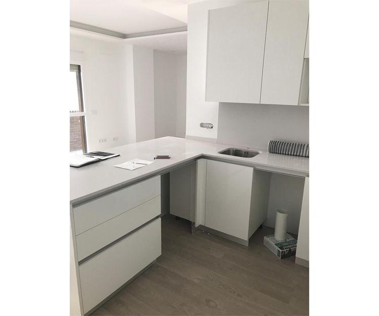 Instalación de mobiliario de cocina en Leganés, Madrid