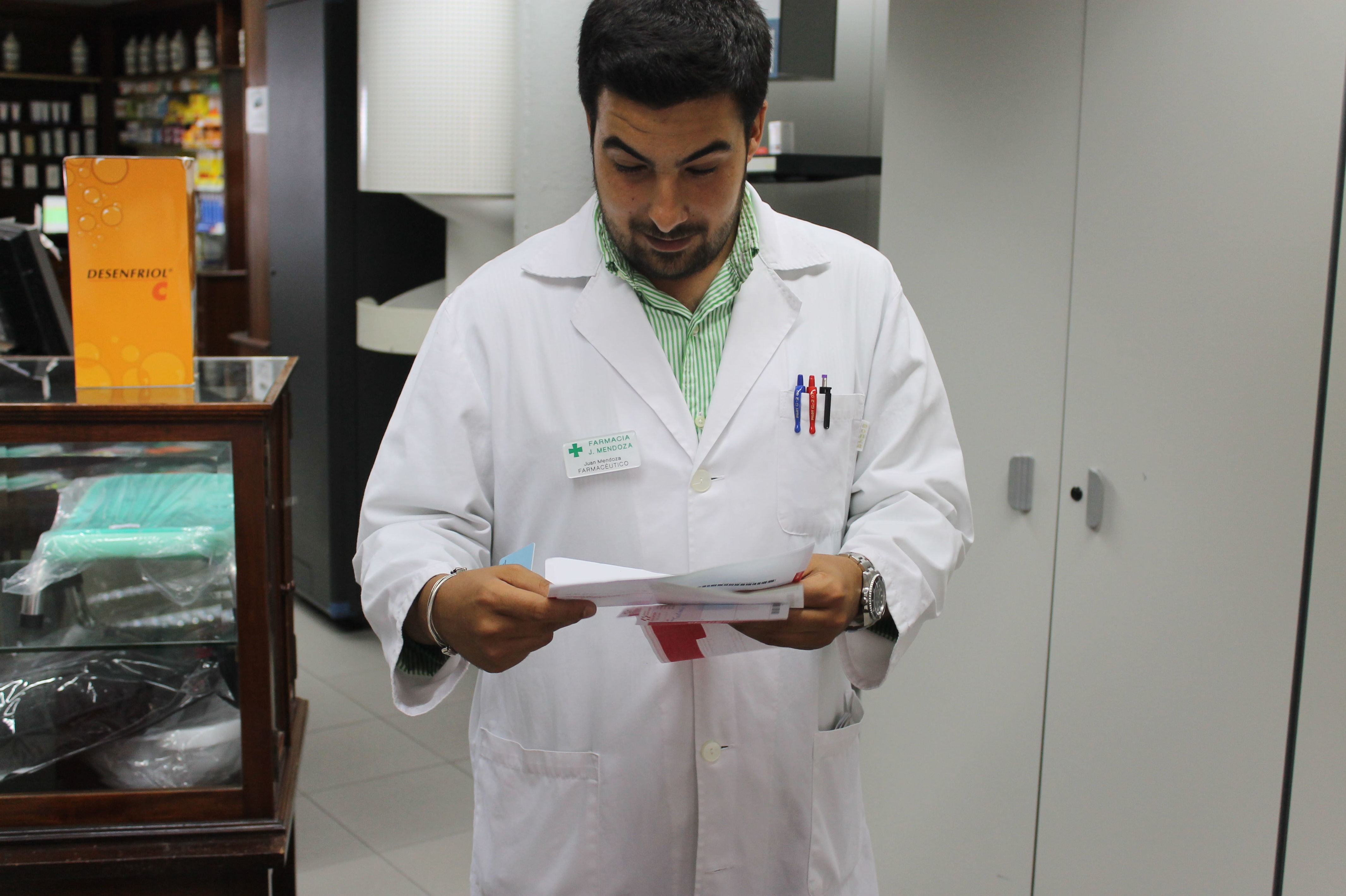 Farmacia J. Mendoza, en Las Palmas de Gran Canaria