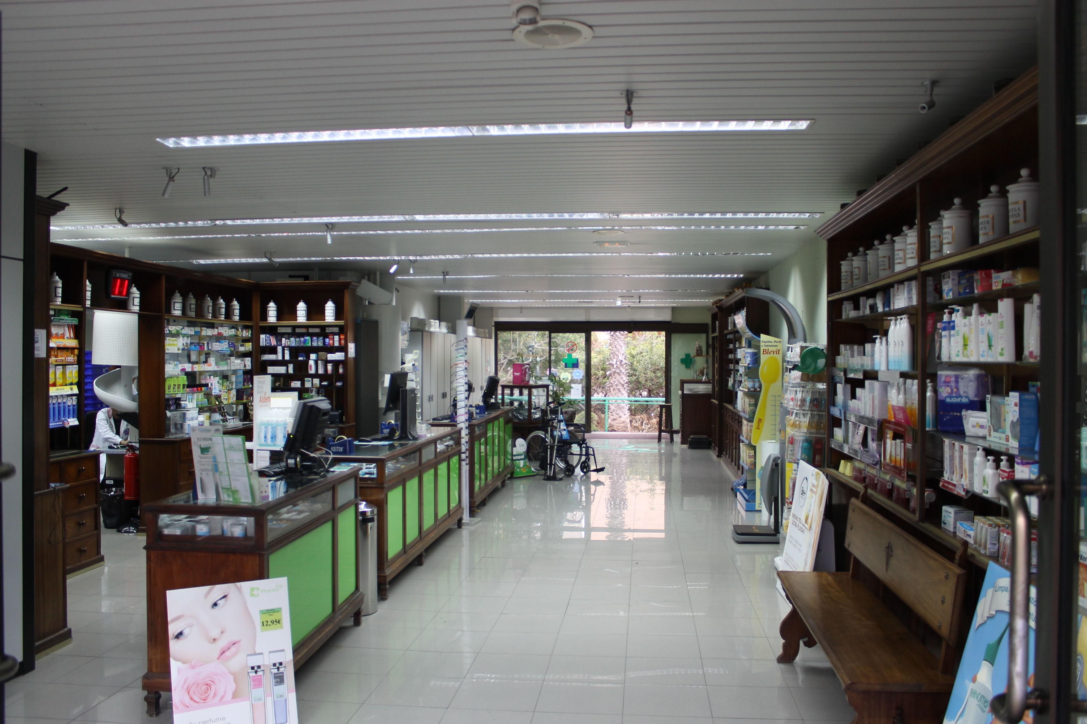 Productos de parafarmacia, cosmética y productos para el bebé