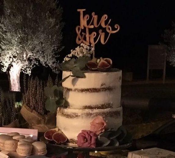 Tartas de boda artesanales y originales en Huesca