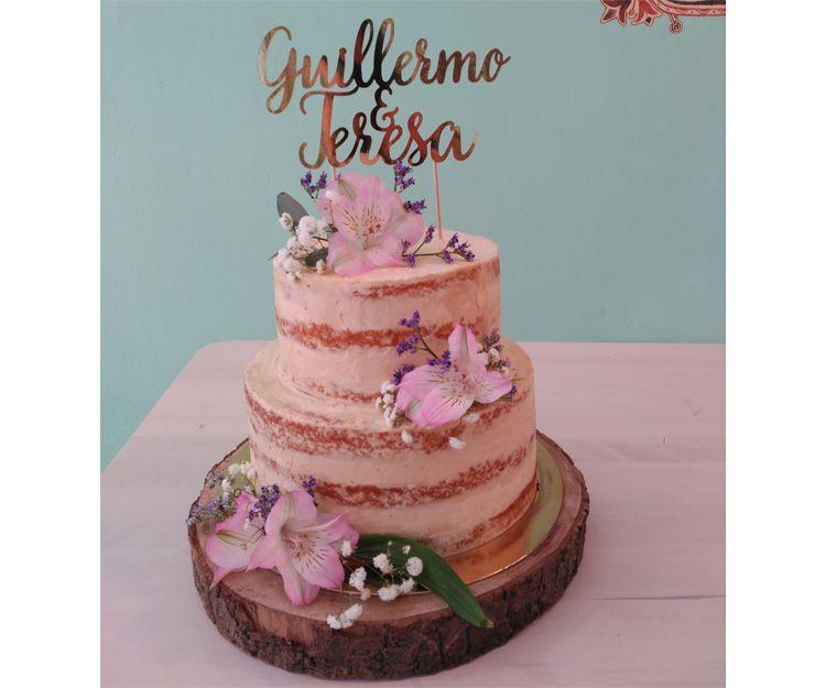 Tarta de boda G&T
