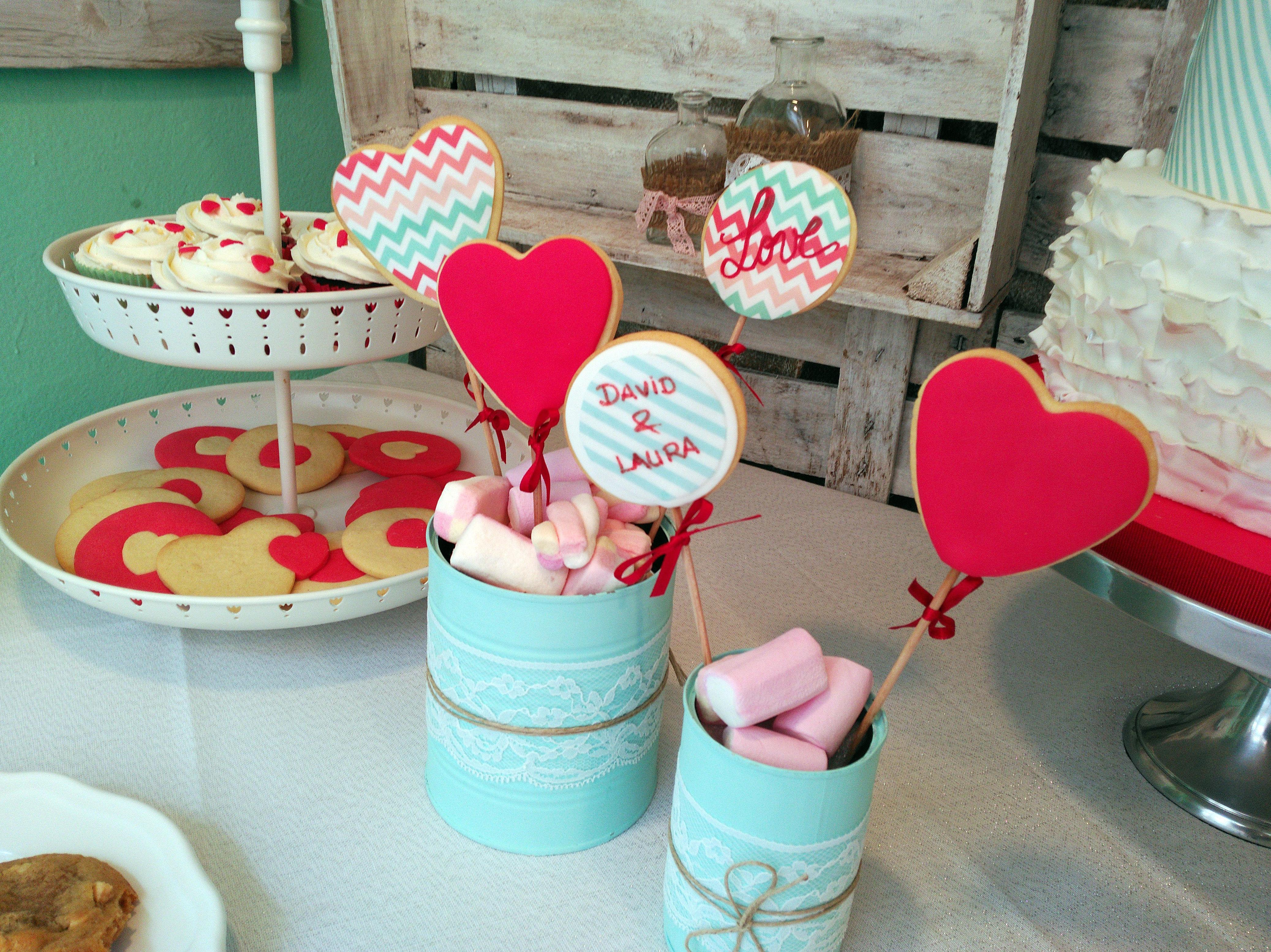 Mesas dulces para eventos en Huesca