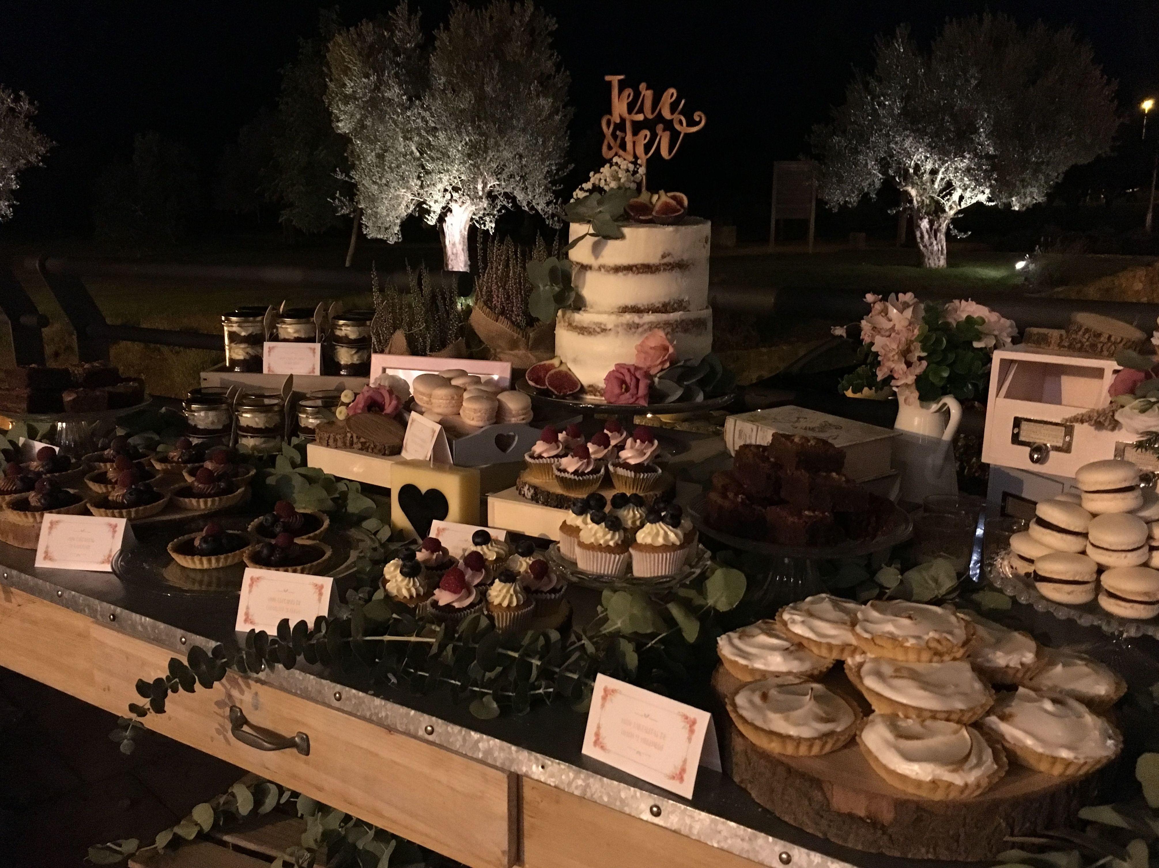 Mesa dulce boda, Huesca
