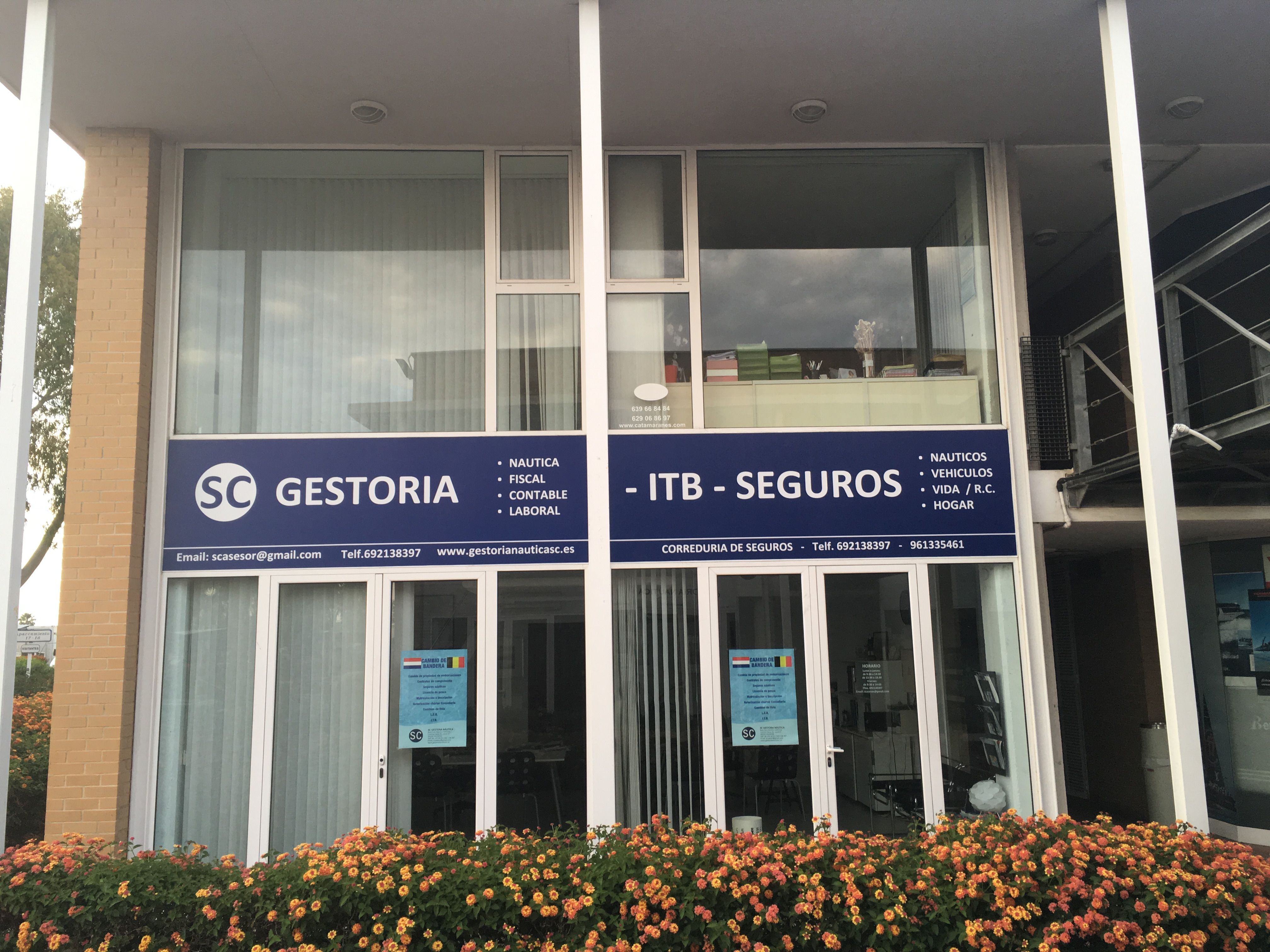 Nuevo local  SC Gestoría Náutica - ITB Seguros