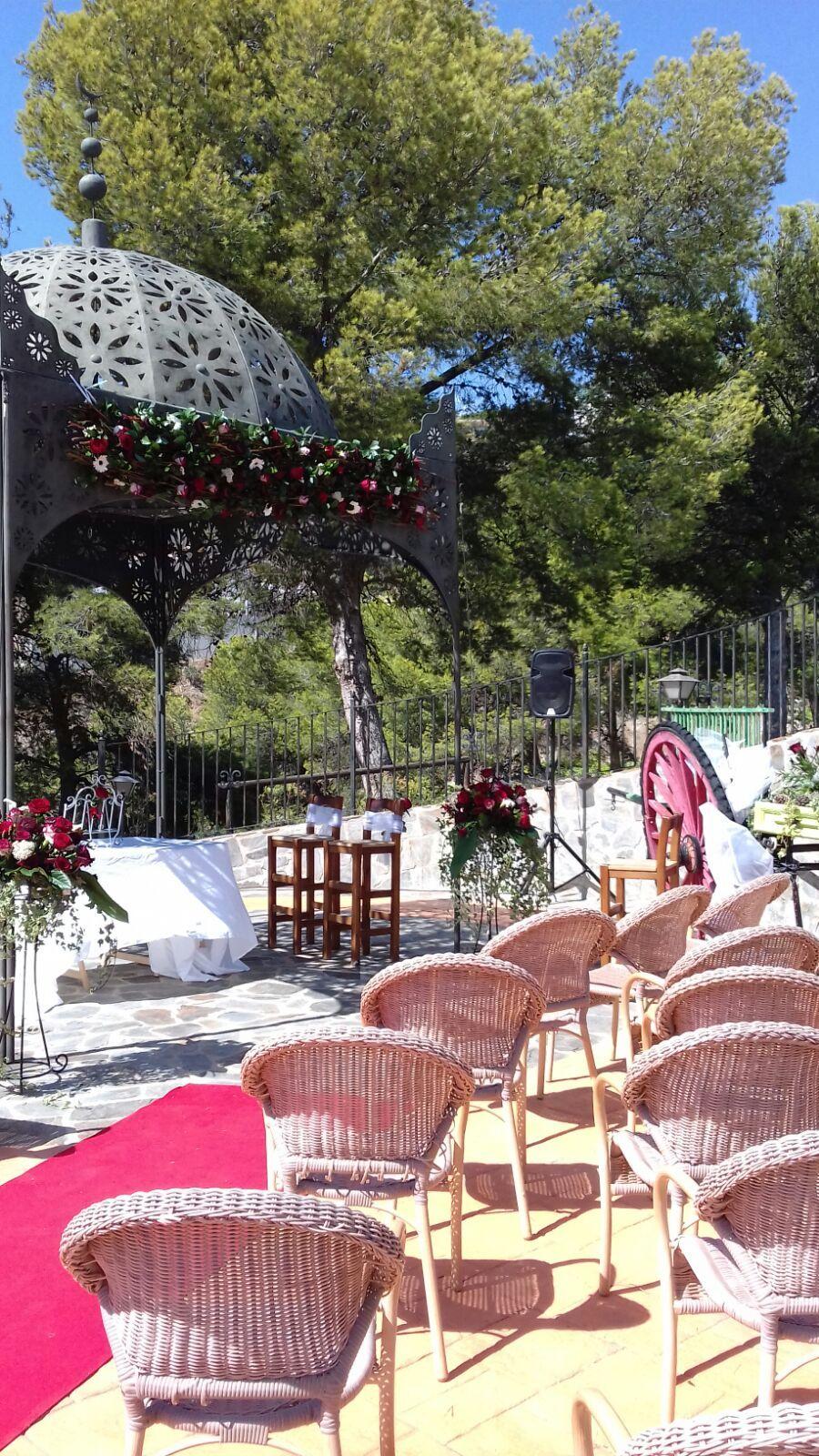 Decoración floral especial en bodas