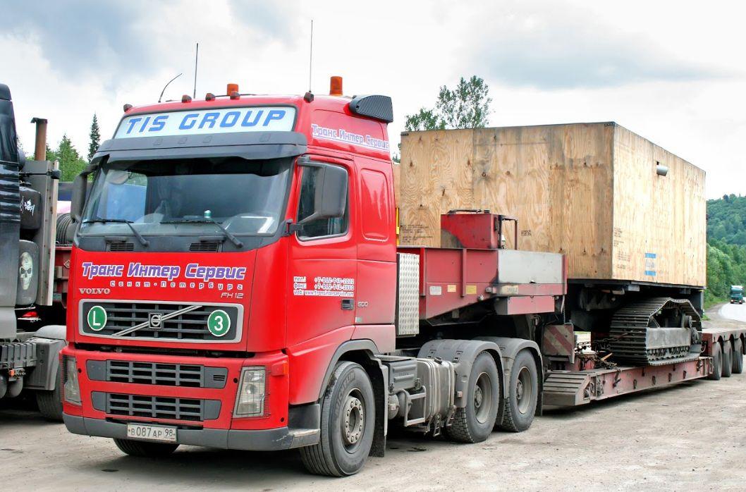 Transporte de maquinaria por carretera en Pontevedra
