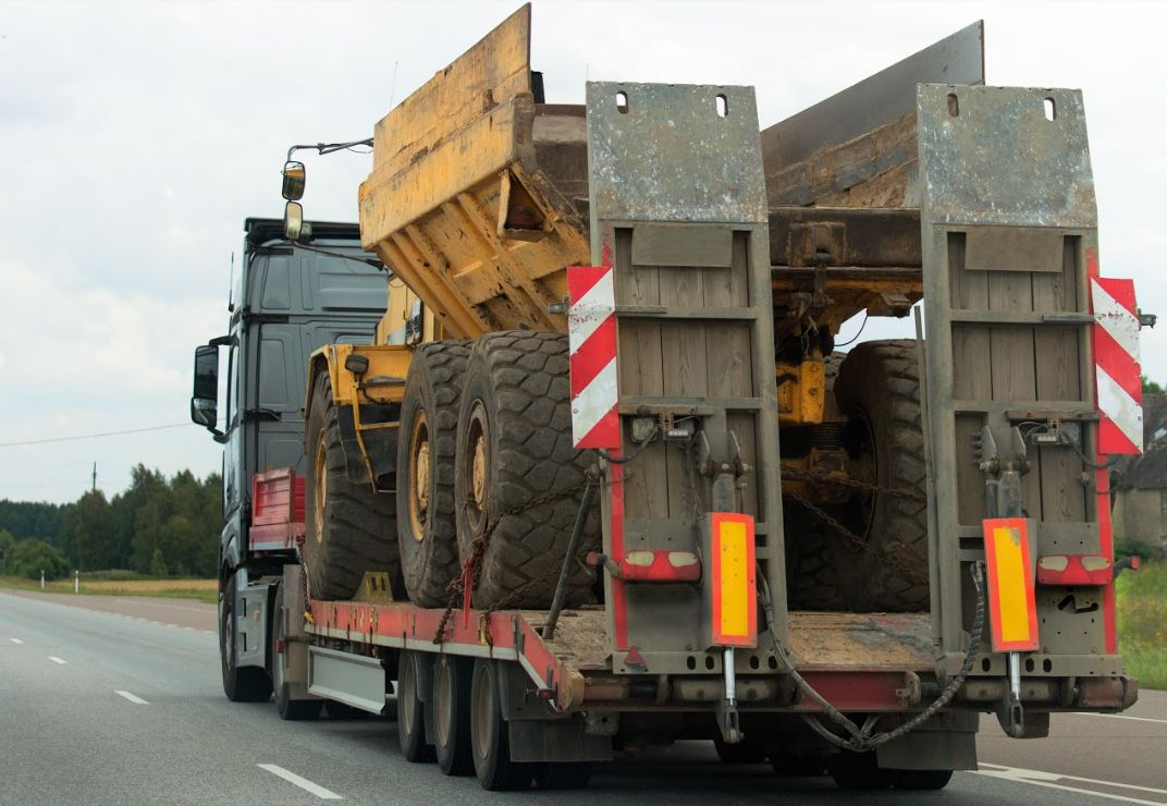 Transporte de maquinaria en Pontevedra