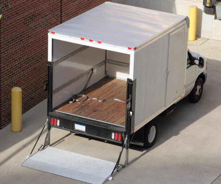 Camiones adaptados para carga y descarga