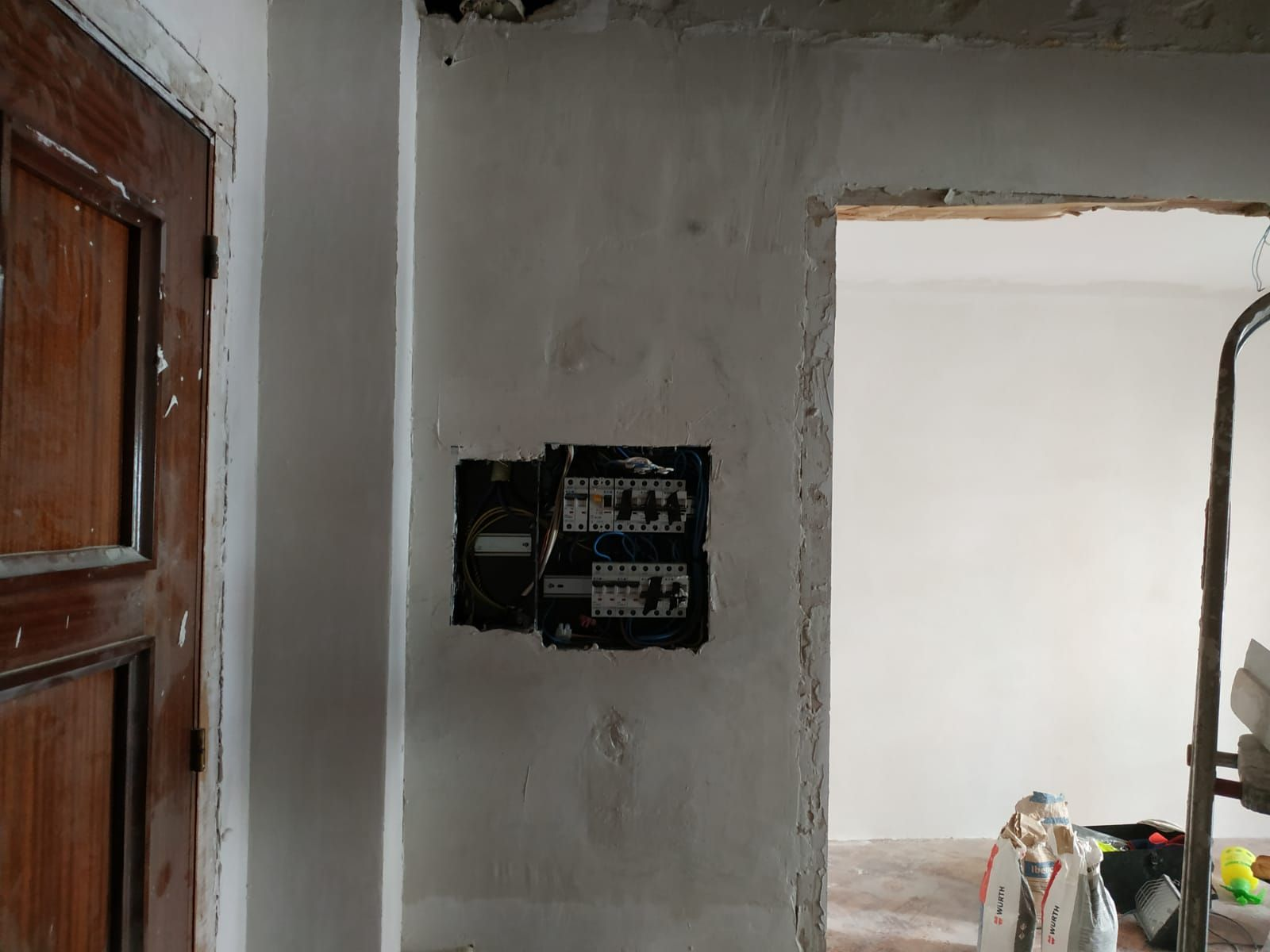 reparación de instalación eléctrica
