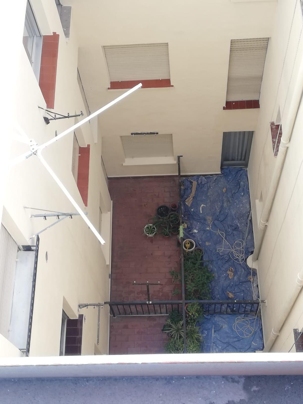 Reforma patio interior comunidades Logroño
