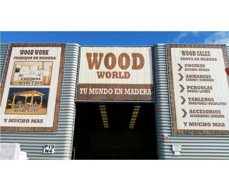 Todo tipo de trabajos de madera en Wood World, Fuerteventura
