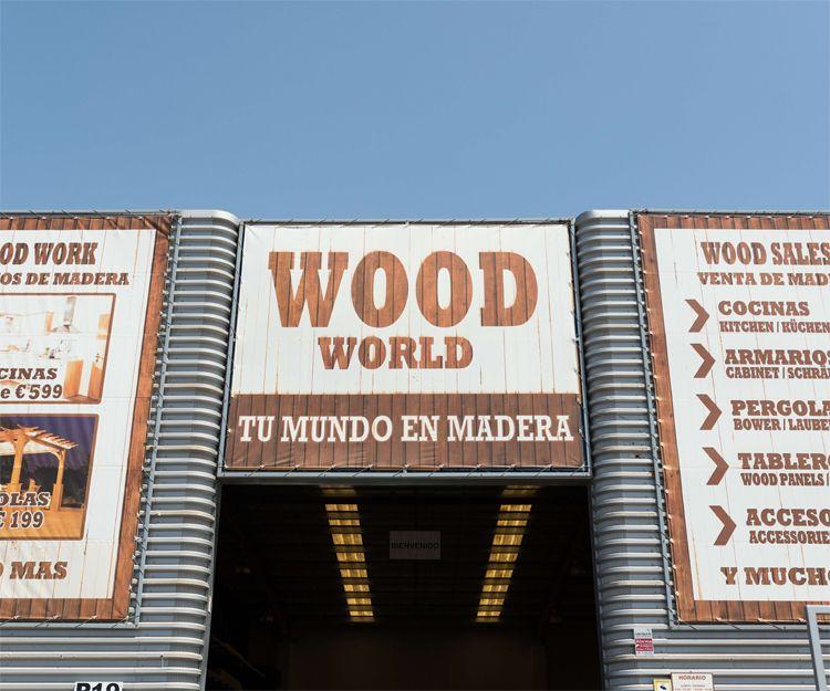 Tienda de madera en Fuerteventura