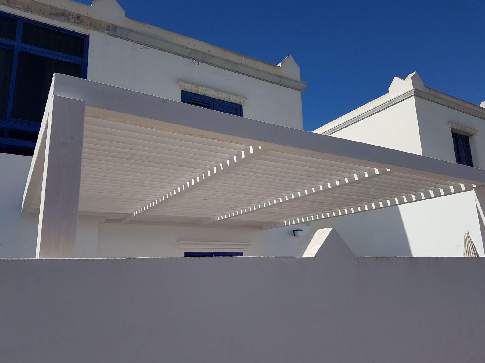 Pérgolas de madera para terrazas Fuerteventura