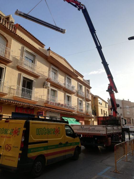 Proyectos de obra con camión grúa en Albacete