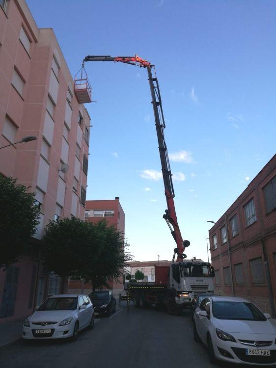 Trabajos con cesta en Albacete